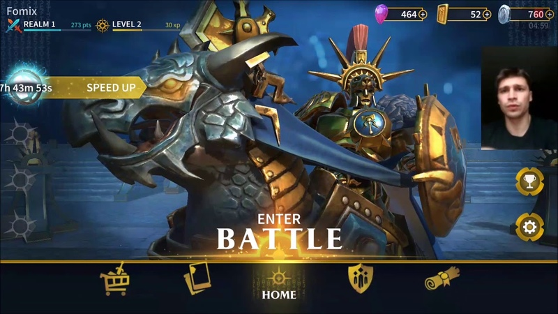 Warhammer Age of Sigmar: Realm War - первый взгляд, обзор (Android Ios)