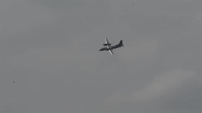 Высший пилотаж на Ан-32!