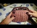 TUTORIAL CLIC CLAC PRADINA uncinetto crochet PUNTO PRADA (part 5)