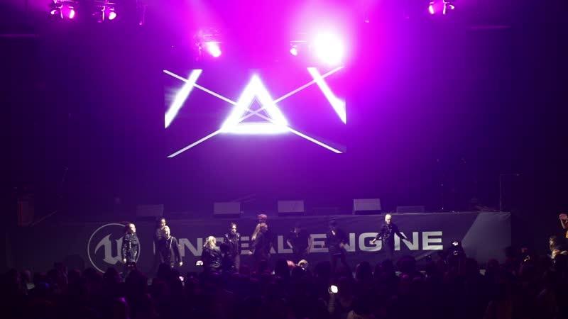KY Crew - NCT 2018 - Black on Black - Autumn IdolCon 2018