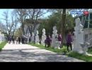 Акция по облагораживанию мемориалов на образовательных проектах Я гражданин и Волонтер в ВДЦ Смена