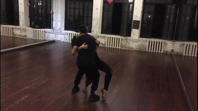 БАЧАТА (Bachata) Ismael Hidalgo Natalya Poddubnaya, школа танцев Держи Ритм