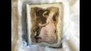 Decoupage Vintage Book Box MDF - Ντεκουπαζ Βιβλίο - Κουτί απο MDF - Diy by Debi