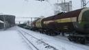 Электровоз ВЛ80С 545 с грузовым поездом станция Нижний Новгород Московский 29 01 2019