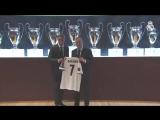 Нападающий «Реала» Мариано Диас был официально представлен в качестве игрока клуба.