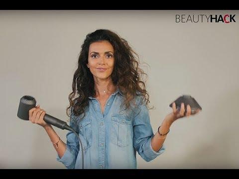 Как справиться с длинными и вьющимися волосами – простой вариант укладки