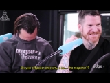 [RUS SUB] Fall Out Boy use nipple clamps to shock Chang!