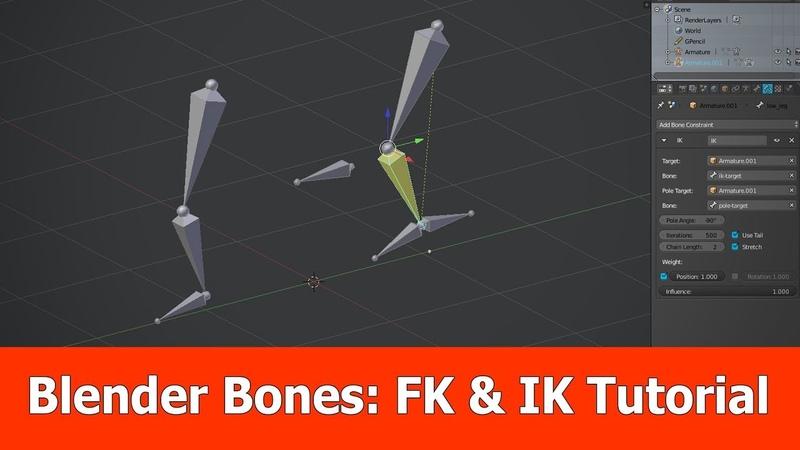 Blender FK vs IK Rigging Tutorial