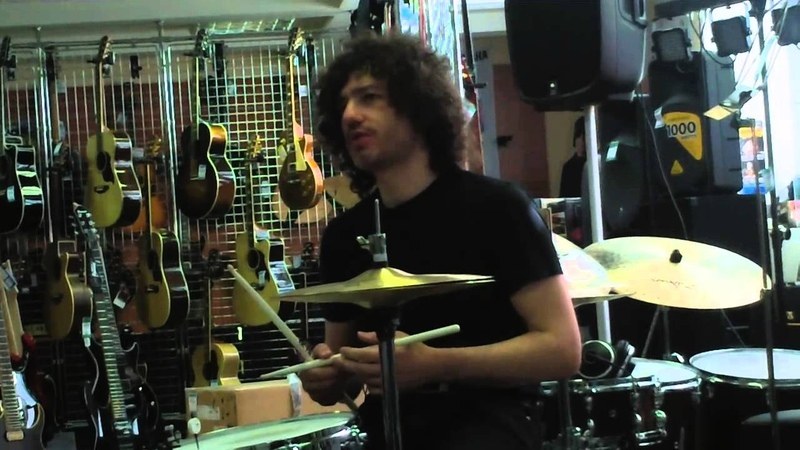 Max Klots Drum Clinic @Muztorg 2 St Pete 4 28 2013 Part 1 Swinging the Snare