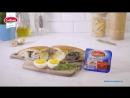 Горячий бутерброд с грудинкой птицы и Моцареллой Cucina
