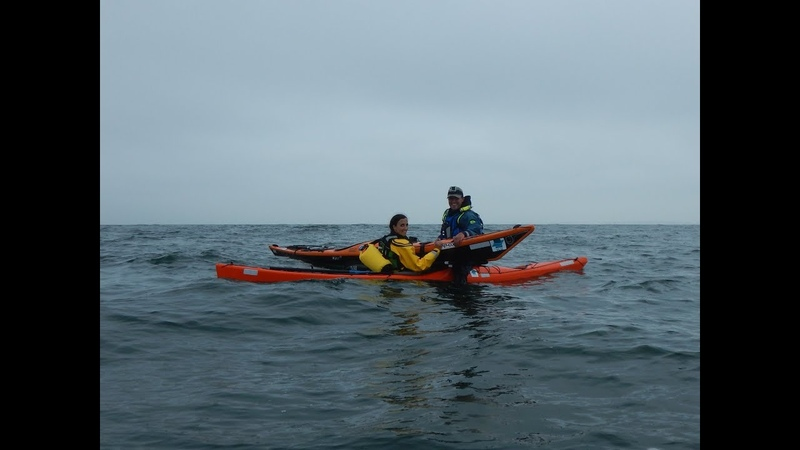 NORTHSEAKAYAK - Cleopatras Needle Flooded Sea Kayak Rescue