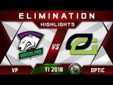 VP vs OpTic TI8 TOP 6 The International 2018 Highlights Dota 2