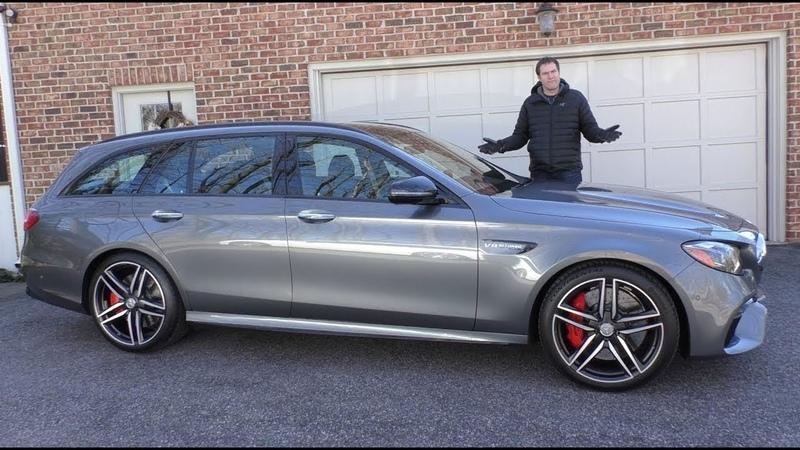 Mercedes-AMG E63S Wagon 2018 года - семейный универсал за $120 000