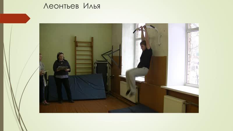 Леонтьев Илья (категория 9-10 класс) МБОУ Марковская ООШ