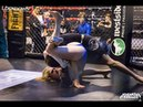 Girl vs Boy submission grappling cage fight