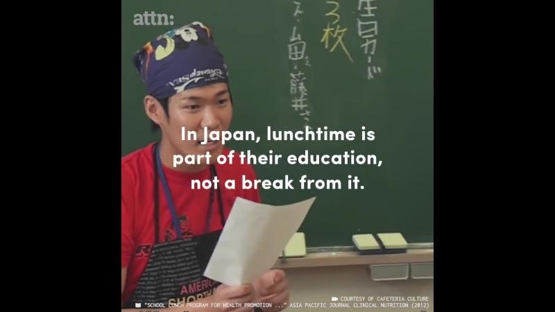 In Japan kochen Schüler ihr Essen selbst