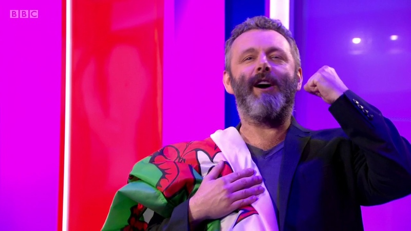Michael Sheen's Speech for Wales at The One Show 06 07 2017