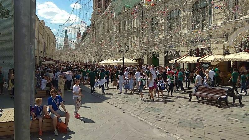 Фанаты оккупировали Москву