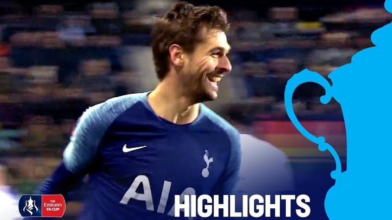 Tranmere0-7 Tottenham | Llorente gets a Hat-Trick as Spurs Strike 7! | Emirates FA Cup 18/19