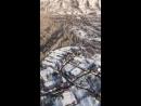 Затор льда около села Малеевск Зыряновского района ВКО