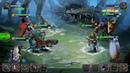Spirit Wars Online Turn based RPG android game first look gameplay español