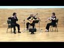 Trio MeSaMor flauta (Vicent Morelló), oboe (Sarah Roper) y guitarra (María Esther Guzmán)
