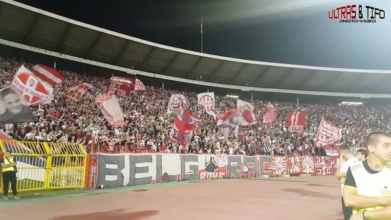 CL Crvena Zvezda Belgrade Spartak Trnava CrvenaFans 2018 08 07