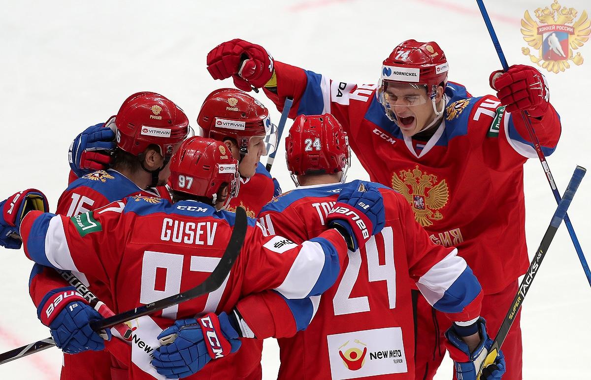 Россия разгромила Финляндию на Кубке Первого канала (Видео)