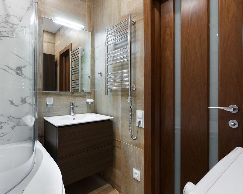 Интерьер квартиры почти 40 м (с балконом - 43 м) в Санкт-Петербурге.