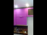 Кухня Фиолет матовый