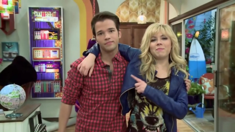 Jennette McCurdy and Nathan Kress ( icarly )Sam and Freddie