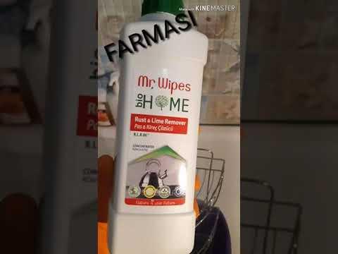 Средство для удаления накипи и ржавчины MR. WIPES RUST LIME REMOVER от компании FARMASI