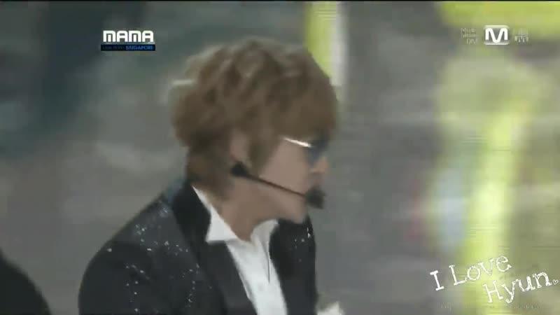 2011 Mnet Asian Music Awards.111129 김현중(kim hyun joong)(SS501)