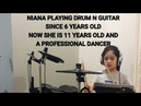 NIANA GUERRERO PLAYING GUITAR N DRUM ALL ABOUT THAT BASS MEGHAN TRAINOR RANZ AND NIANA SIBLINGGOALS