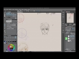Neil Fontaine - 001 Front view How to draw manga anime faces