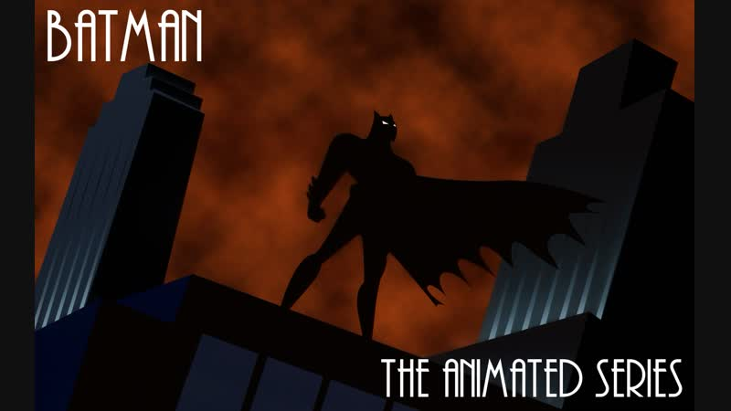 Batman The Animated series S01E020 Исскуство глины HD Remastered