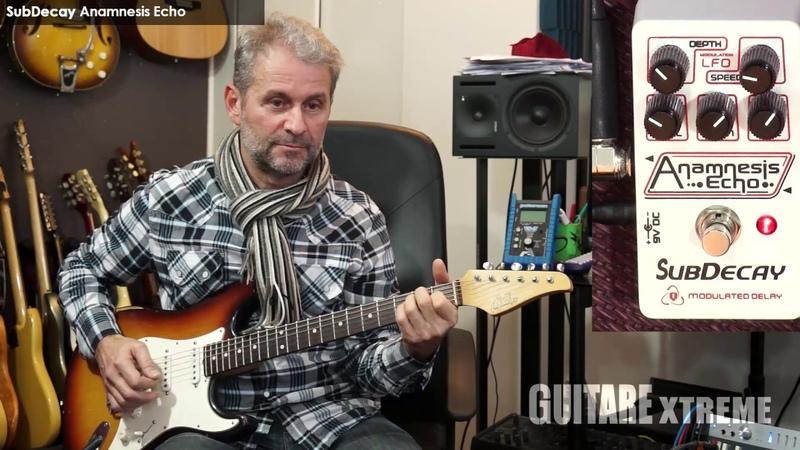 Guitare Xtreme Magazine - SubDecay Anamnesis Echo - François Delfin Régis Savigny