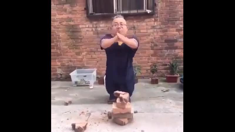 Мастер кунг фу😂