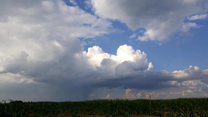 Таймлэпс. Облака