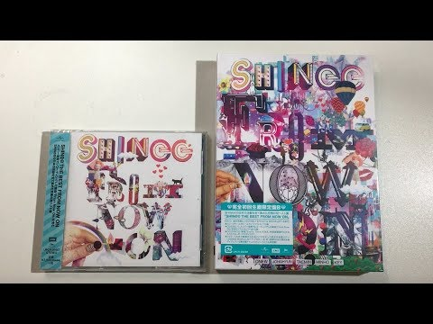 ♡Unboxing SHINee シャイニー The Best From Now On Japanese Album (Standard Limited Edition B)♡