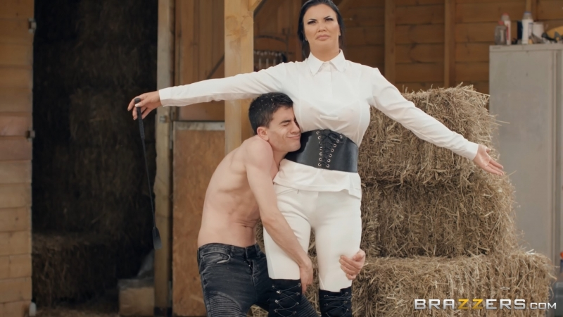 Jasmine Jae ( Horsing Around With The Stable Boy) 2018, Anal, Big Ass, Big Tits, Black Hair, Bubble Butt,