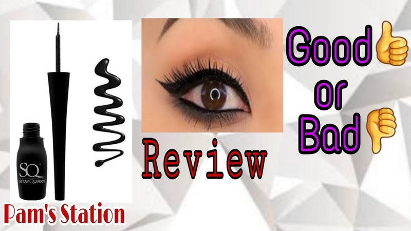 STAY QUIRKY Liquid Eyeliner Review Good or Bad