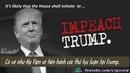 Liệu TT Donald Trump sẽ bị luận tội và phế truất khi Đảng Dân chủ chiếm Hạ Viện?