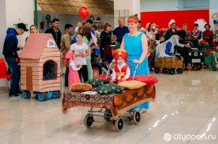В Стерлитамаке прошел 8ой ежегодный Фестиваль колясок