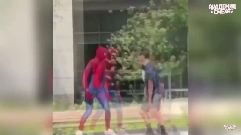 Человек паук нашего времяни