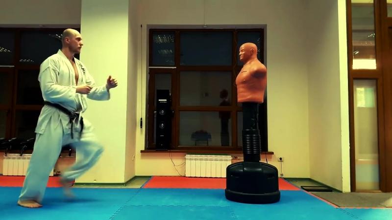 Ура маваши гери Уширо маваши гери Martial arts Каратэ клуб СКИФ Karate club SKIF