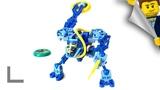 Обзор набора Lego Technic #8503 Подводный Слайзер (Slizer Sub Throwbot Scuba)