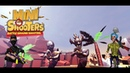 Mini Shooters Battleground Shooting Game Геймплей Трейлер