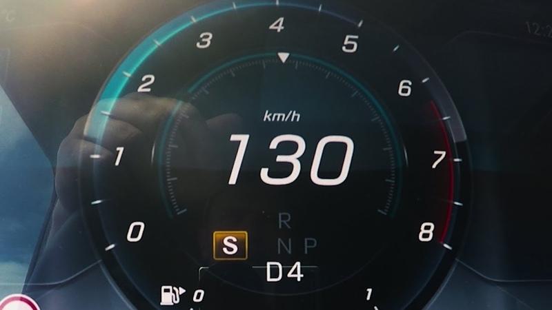 2018 Mercedes-Benz G 500 (W463) 0-100 kmh kph 0-60 mph Tachovideo Beschleunigung Acceleration