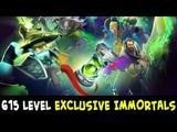 615 level TI8 EXCLUSIVE IMMORTALS preview